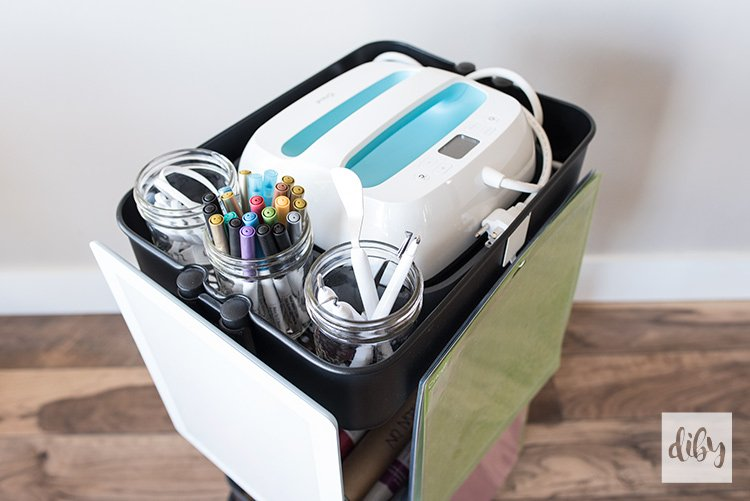 Diy Cricut Cart
