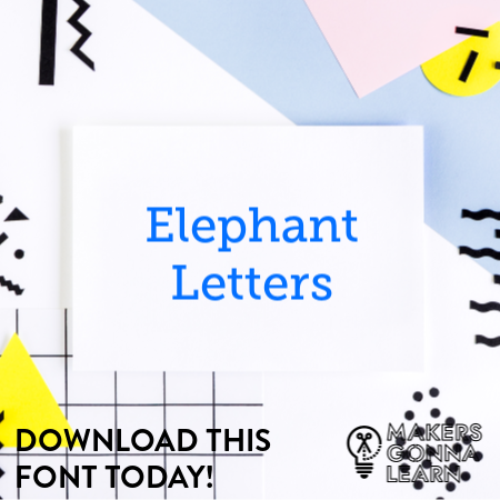 Elephant Letters