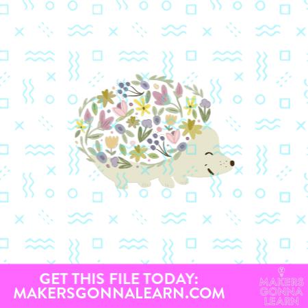 Flower Hedgehog