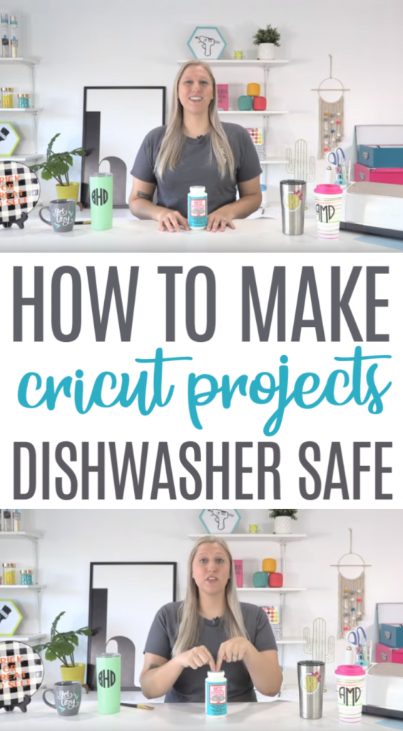 How To Make Cricut Projects Dishwasher Safe