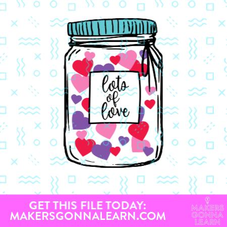 Lots of Love Jar