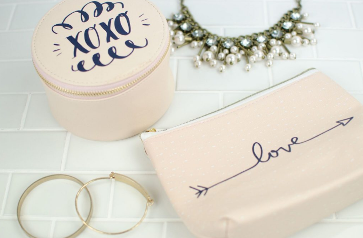 Makeup And Jewelry Pouches