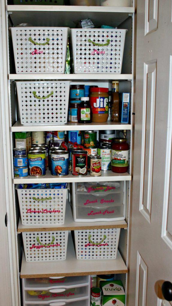 Pantry Organization Refresh