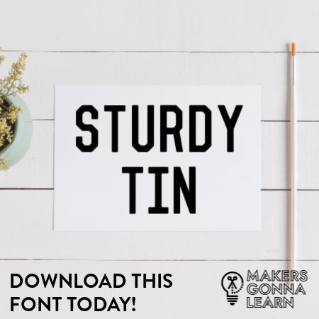 Sturdy Tin