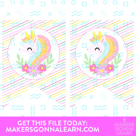 Unicorn Party Banner Spacer