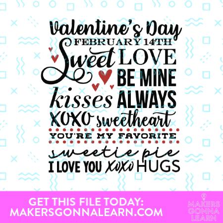 Valentines Day Phrases