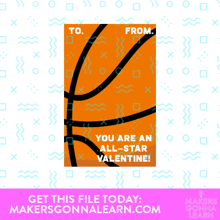 You Are An All Star Valentine