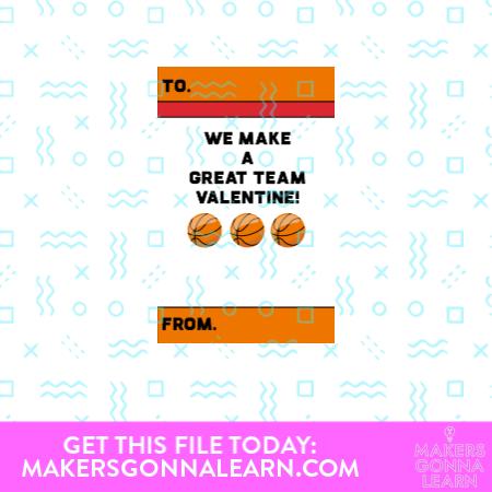 We Make A Great Team Valentine