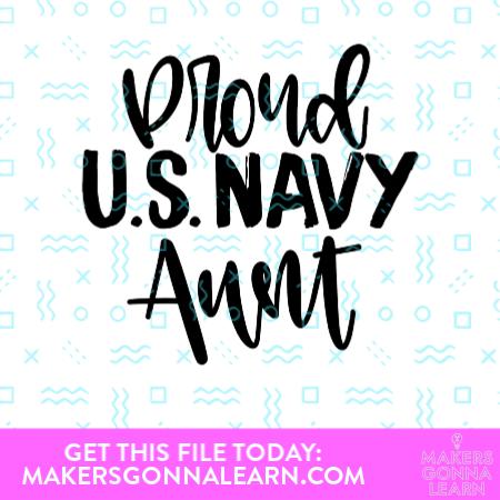 Proud Navy Aunt