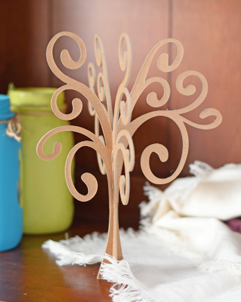 3d Chipboard Tree