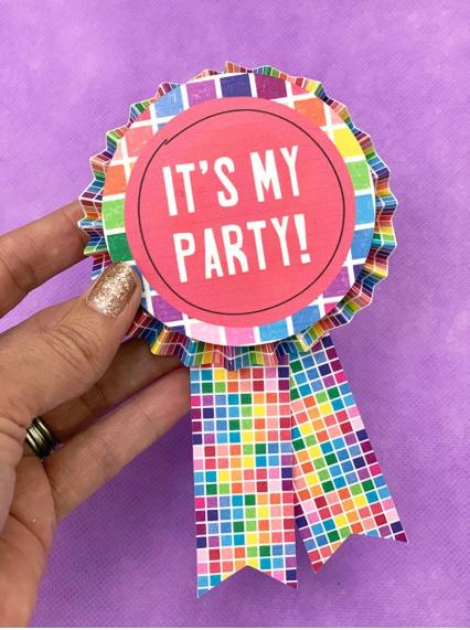 Diy Cute Party Button