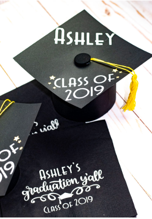 Personalized Cap And Napkins