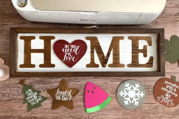 Seasonal Home Sign