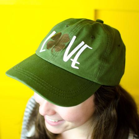 St. Patrick's Day Iron On Hat