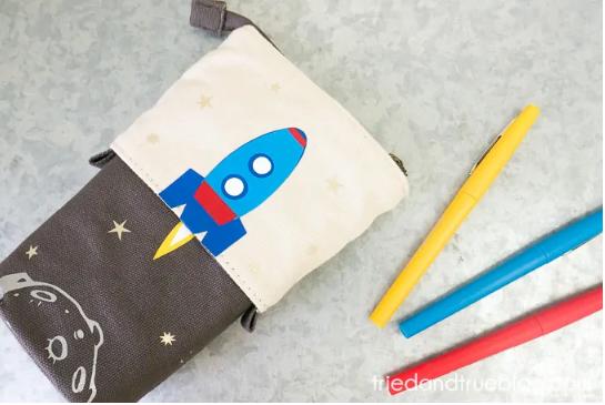 Collapsible Pencil Case
