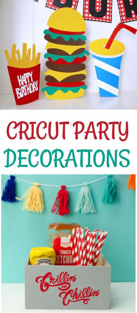 Cricut Party Decorations