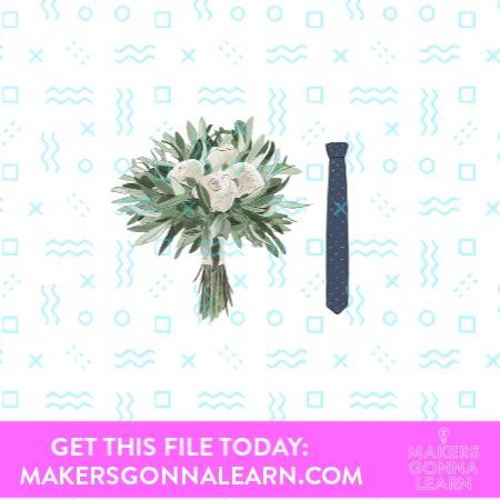 Tie & Bouquet