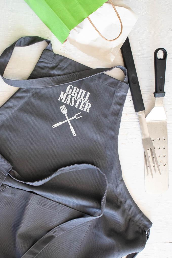 Cricut Grill Master BBQ Apron