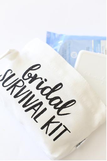 Bridal Survival Kit Pouch