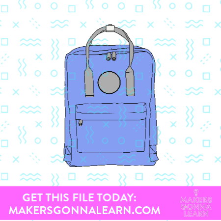 Backpack Sticker