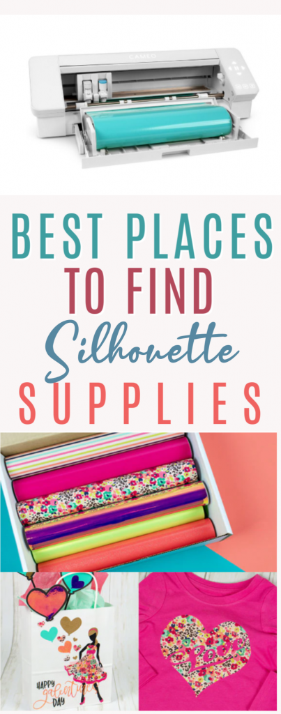 Best Places To Find Silhouette Supplies