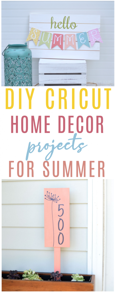 Diy Cricut Home Decor Projects For Summer