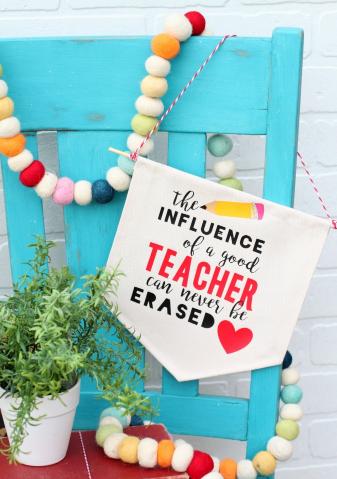 Diy Teacher Appreciation Banner