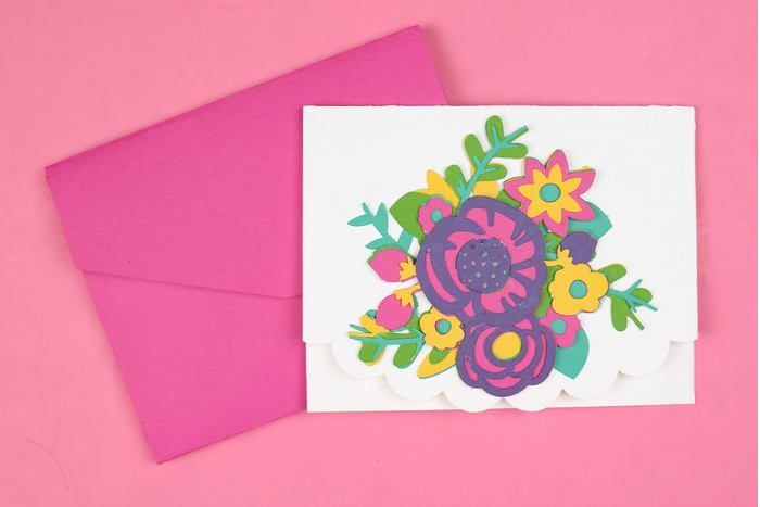 Layered Floral Card