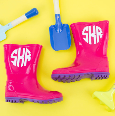 Personalized Rain Boots