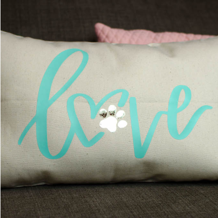 Pet Lover Iron On Pillow