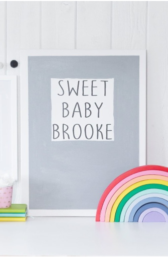 Sweet Baby Wall Decor
