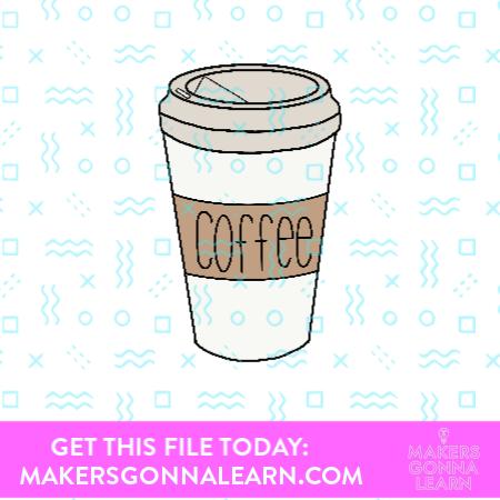 To-Go-Coffee Sticker