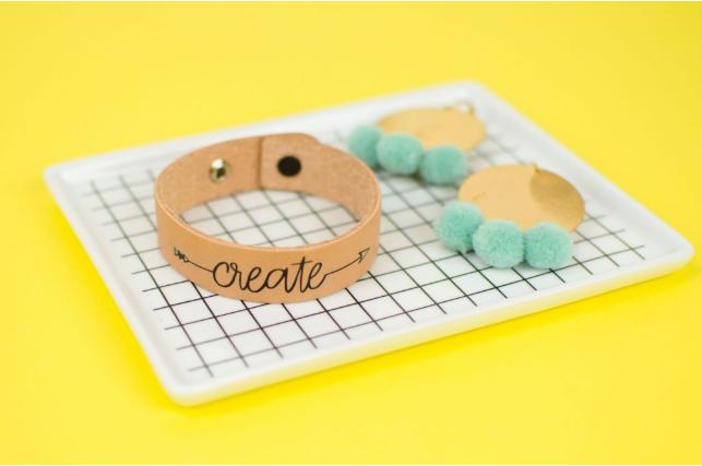 Diy Leather Bracelet With Your Cricut