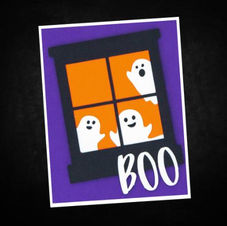 Easy Halloween Card Idea