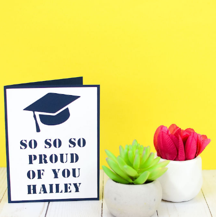 Easy Two Layer Graduation Card