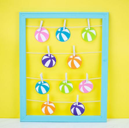 Fun Summer Bucket List Craft