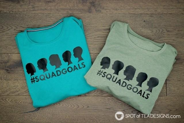 Grandparents Gift Silhouettes Tshirt 1