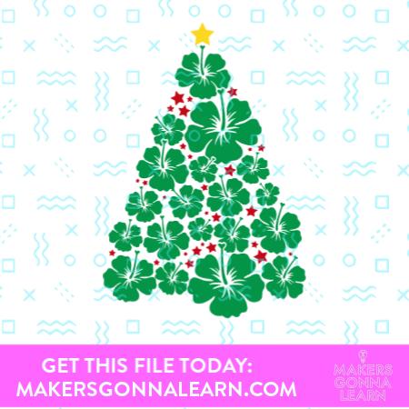 Hibiscus Christmas Tree