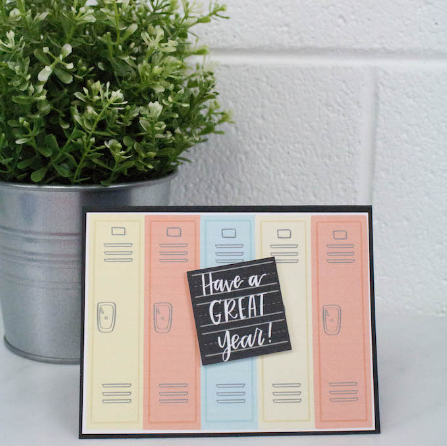 Multi Layer Print Then Cut Back To School Card