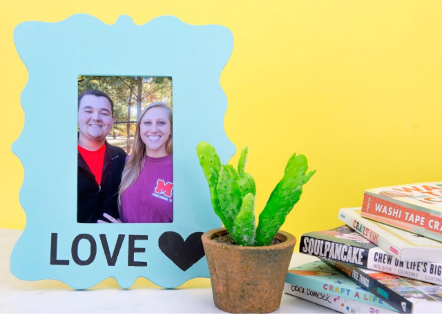 Painted Photo Frame