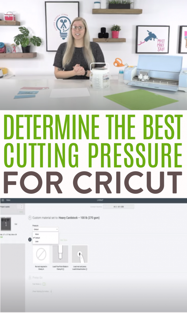 Determine The Best Cutting Pressure For Cricut