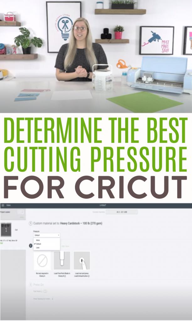 Determine The Best Cutting Pressure For Cricut