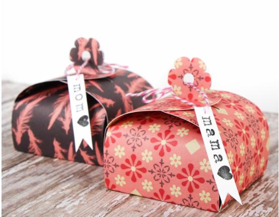 Flower Tab Gift Box