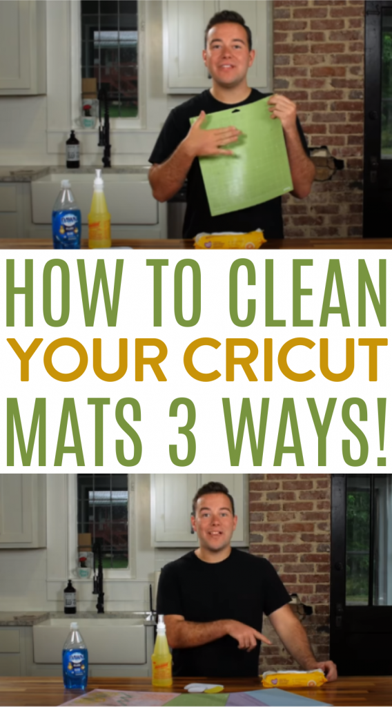 How To Clean Your Cricut Mats 3 Ways