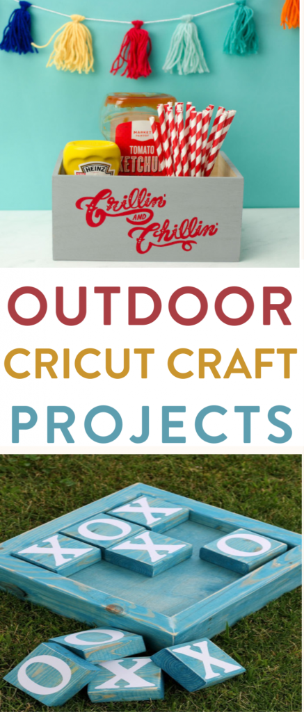 Outdoor Cricut Craft Projects