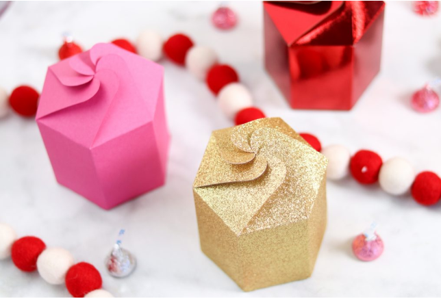Valentines Day Cricut Gift Boxes