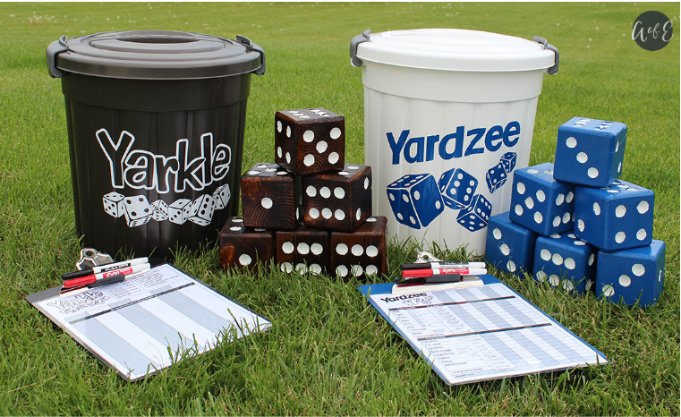 Yardzee And Yarkle Yard Games