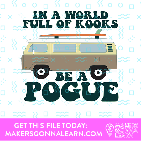 Be A Pogue