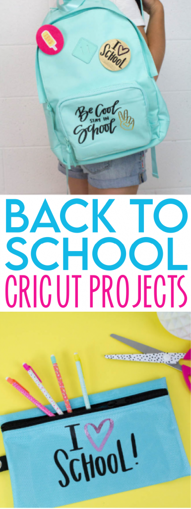 Back To School Cricut Projects