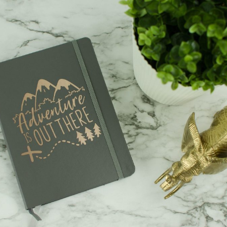 Diy Adventure Is Out There Notebook
